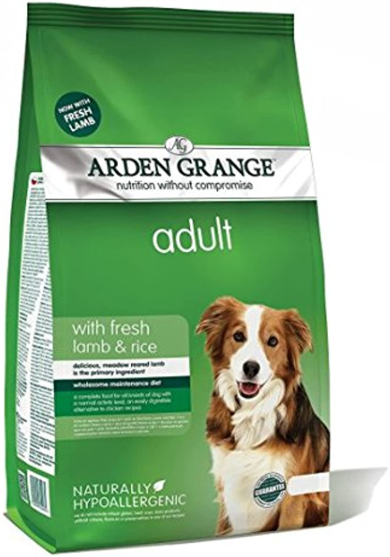 ARDEN GRANGE LAMB AND RICE ADULT DOG FOOD  12 KG