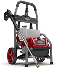 Briggs & Stratton S1800 1800 MAX PSI at 1.1 GPM Electric Pressure Washer with Detergent Tank, 20-Foot High-Pressure Hose, ...