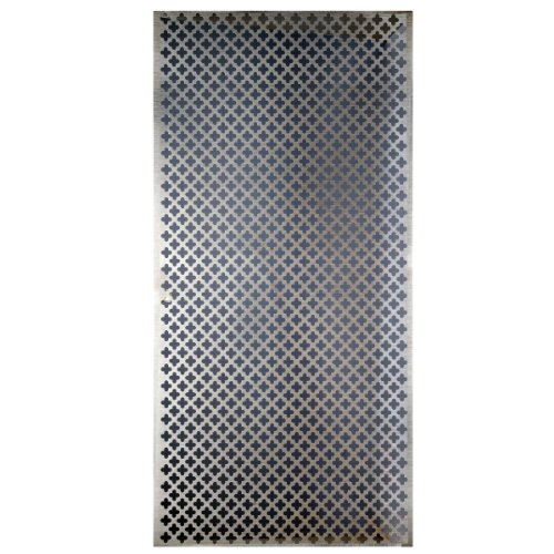 M-D Hobby & Craft M-D Building Products 57324 Decorative Cloverleaf Aluminum Sheet, Silver
