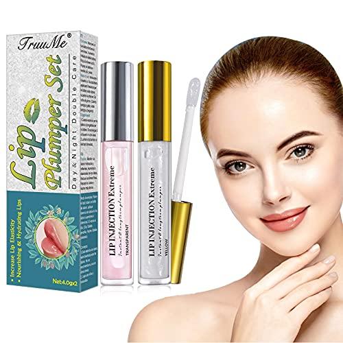 Lip Enhancer, Balsamo Labbra, Plumping Lip Balm, Lipstick, Labbra Sexy Idratanti e Idratate, per labbra piene e carnose naturalmente