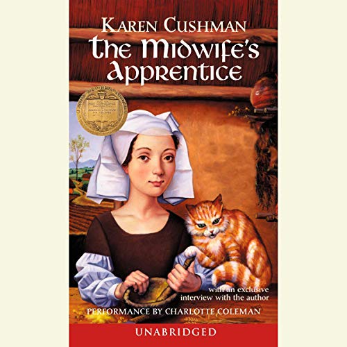 The Midwife's Apprentice audiobook cover art