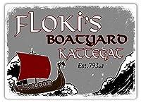 Norse Medieval 注意看板メタル安全標識注意マー表示パネル金属板のブリキ看板情報サイントイレ公共場所駐車ペット誕生日新年クリスマスパーティーギフト