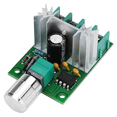 con función de interruptor Regulador de motor PWM DC, controlador de velocidad del motor de rendimiento estable, motor de CC con interruptor de velocidad variable 6V-12V 6A para la