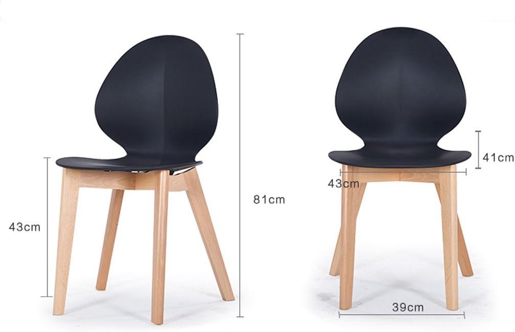 HXF- Chaise de Salle à Manger Moderne Minimaliste Durable (Color : B) B