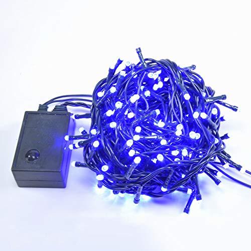 Due Esse s.r.l. Deux Elles éclairage intérieur 180 LED Bleu 8 Jeux de lumière