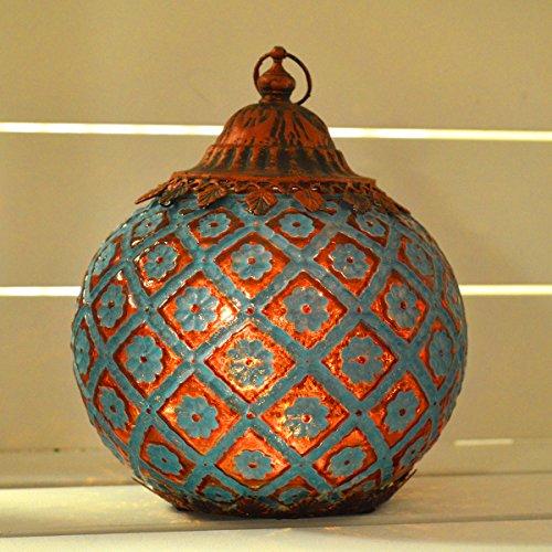 Para colgar marroquí farol LED cuerda luz única iluminación del hogar decoración de temporada