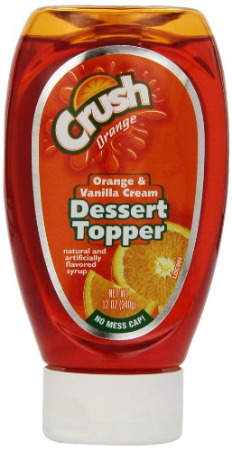 Orange Crush Dessert Topper, 12-ounces (Pack of 6)