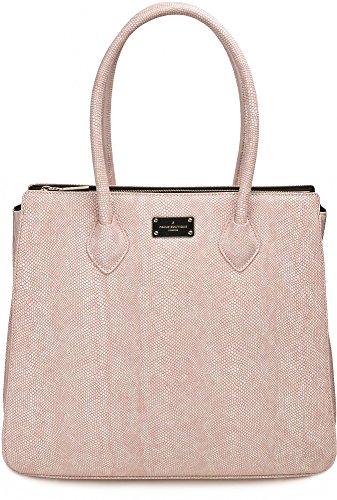 Pauls Boutique, Coco, dames handtassen, hengseltassen, schoudertassen, oudroze, 38 x 33 x 16 cm (B x H x D)