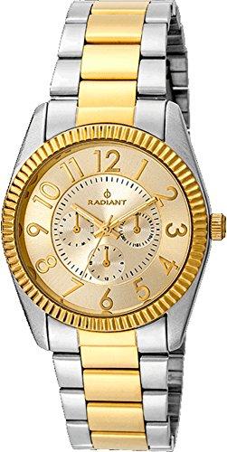 Radiant Reloj Análogo clásico para Mujer de Cuarzo con Correa en Acero Inoxidable RA380204