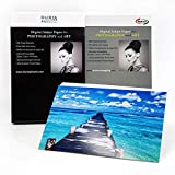 RCP Pearl Lustre 300gsm Digital Inkjet Paper for Photography and Art (11-x-14)