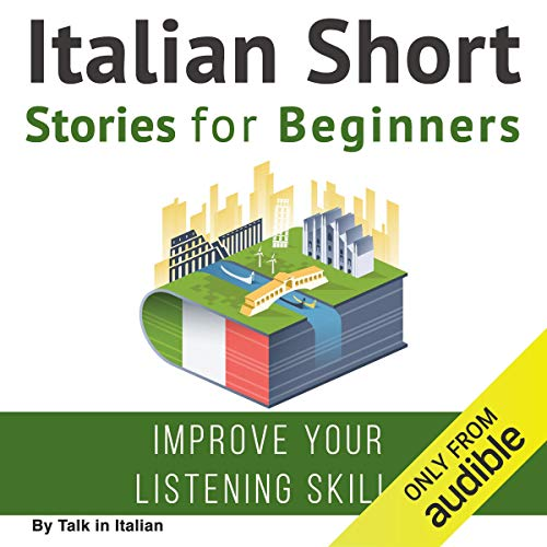 Italian Short Stories for Beginners  By  cover art