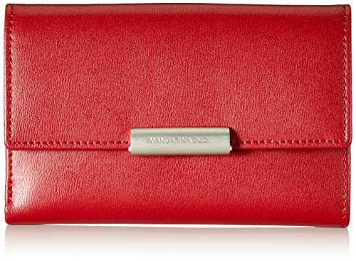 Mandarina Duck Hera 3.0, Portafoglio Donna, Rosso/Red, 10x21x28.5 cm (B x H x T)
