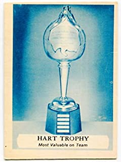 1969/70 OPC Hart Trophy Card #224 Boston Bruins Montreal Canadiens
