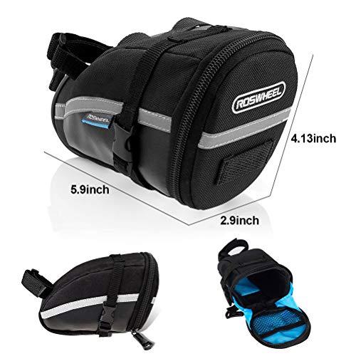 bike saddle bag tool kit - 24 pcs bike repair tool
