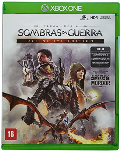 Sombras da Guerra - Definitive Edition - Xbox One
