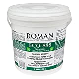 ROMAN Products 018801 ECO-888 Strippable Wallpaper Adhesive, 1 Gal, 300 Sq. Ft, Clear