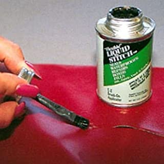 Liquid Stitch Flexible Repair Adhesive Leather Vinyl Canvas Fabric Waterproof by Invisible Repair