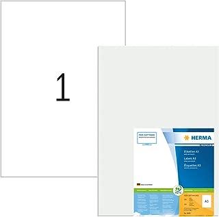 Herma 8692 - Etiquetas para impresoras (100 unidades), blanco