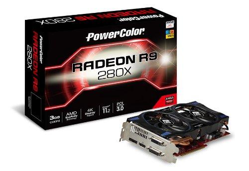 TUL AXR9 280X 3GBD5-DHE PowerColor Grafikkarte (PCI-e, Radeon R9, 3GB GDDR5, 2X DVI, HDMI, DP)
