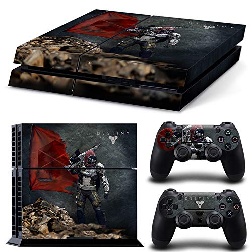 46 North Design Playstation 4 PS4 Folie Skin Sticker Konsole Gardian aus Vinyl-Folie Aufkleber Und 2 x Controller folie