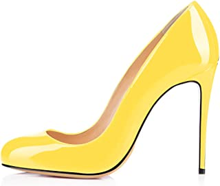 54cfcc65e5674 Amazon.ca: Yellow - Pumps & Heels / Women: Shoes & Handbags