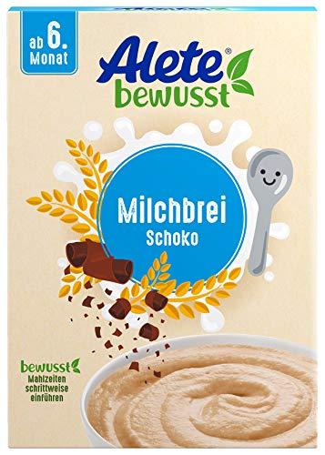 Alete bewusst Milchbrei Schoko, Babybrei ab dem 6. Monat, 400 g