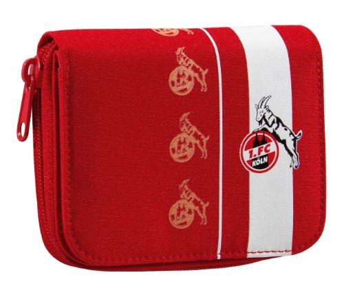 Brauns 1. FC Köln Damengeldbeutel, weiss-rot, 30161