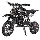 XtremepowerUS 49CC 2-Stroke Gas Power Mini Pocket Dirt Bike Dirt Off Road Motorcycle Mini Kids Ride-on (Red)