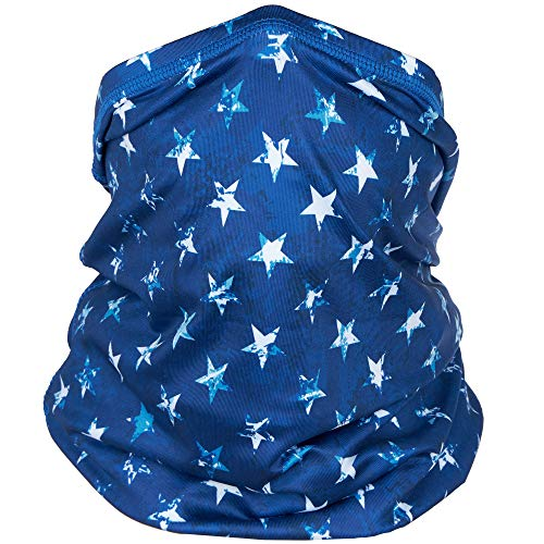 Cooling Face Masks - Neck Gaiters Face Mask - Gators Face Mask - Bandana - Scarf - American Flag USA Stars