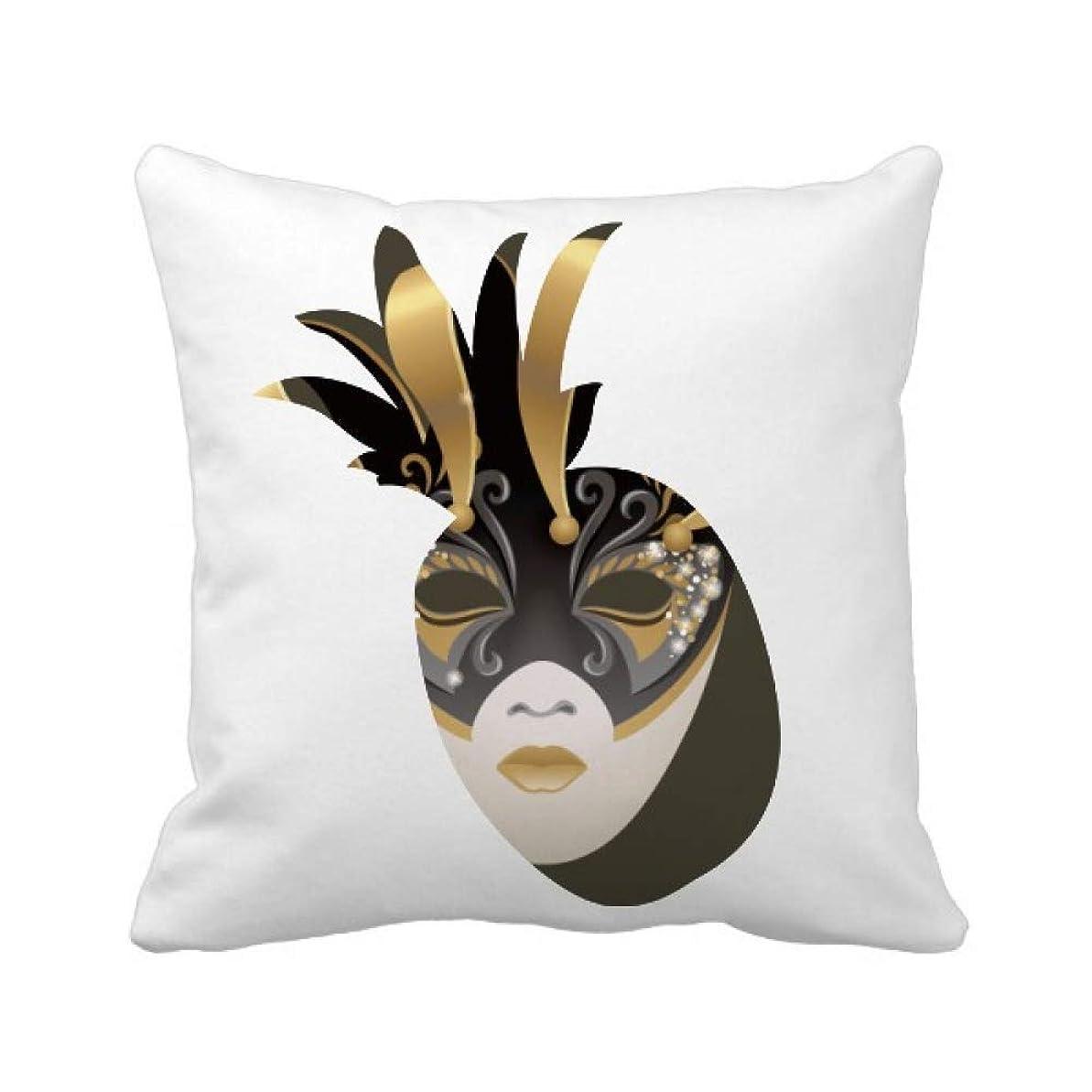 瞳ありふれた限定ベニスの黄金のマスクハッピーカーニバル パイナップル枕カバー正方形を投げる 50cm x 50cm