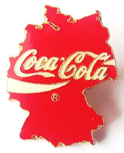 Coca Cola - Deutschland Umriss - Pin