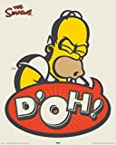 Simpsons, The - Homer Retro D'oh - Mini Poster Filmposter