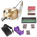 KKmoon 30000RMP Ongle Machine à Manucure, Kit de Polissage des Ongles, Ponceuse à Ongle Manucure, Manucure Machine Ongles...