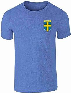 Sweden Soccer Retro National Team Short Sleeve T-Shirt