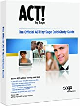 Sage The Official ACT! by Sage QuickStudy Guide - Manual