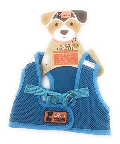 The Dog Walker Medium Blue Harness