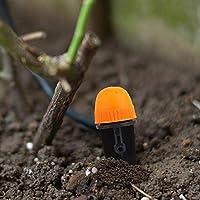 ウォーター スプレー ノズル ガーデン スプレー ヘッド ガーデン スプレー ツール 芝生農業用 ガーデン灌漑システム 灌漑 ガーデニング用品 ガーデン ツール (100 個入り)