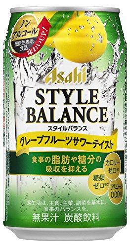 アサヒビール スタイルバランス グレープフルーツサワーテイスト 缶350ml [1504]