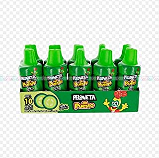 Lorena Pepino Lorena Del Puesto Cucumber flavored Candy 10 Count tasty mexican candy snacks