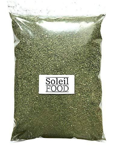 1 kg Petersilie gerebelt getrocknet Petersilie getrocknet GMO frei feinste Qualität Soleilfood
