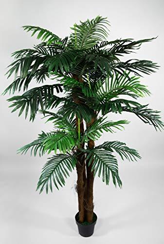 Seidenblumen Roß Phönixpalme 3-stämmig 180cm ZJ künstliche Palmen Palme Kunstpalmen Kunstpflanzen Dekopalme