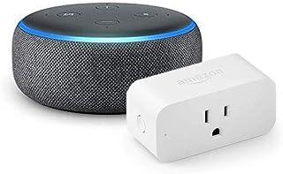 Echo Dot with Amazon Smart Plug, Charcoal