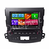 GPS DVD USB SD Bluetooth autoradio navigatore Mitsubishi Outlander/Citroen C-Cross/Peugeot 4007 2006, 2007, 2008, 2009, 2010, 2011, 2012