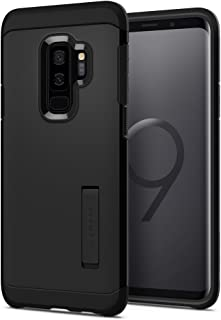 Spigen Tough Armor Galaxy S9 Plus Case with Reinforced Kickstand and Heavy Duty Protection and Air Cushion Technology for Samsung Galaxy S9 Plus (2018) - Black