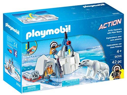 PLAYMOBIL- Exploradores con Osos Polares (9056)