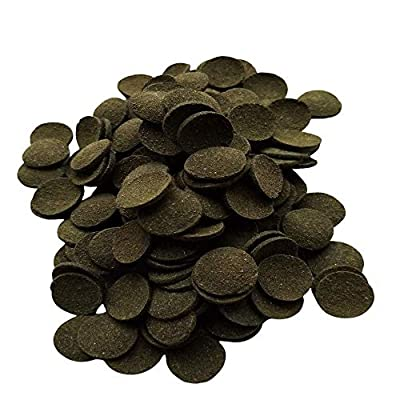 HALF PRICE TROPICAL GREEN SPIRULINA WAFERS Ideal Food For Tropical Fish, Loach, Catfish , Bottom Feeders