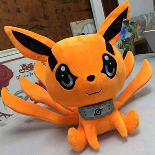 Anime Spielzeug Naruto Zeug Naruto Plüsch Narutos Uzumaki Kyuubi Kurama Ninetales Fox Dämon Plüsch Weiches Tier Kuscheltier Kinderliebhaber Geschenk