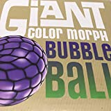 "Giant Bubble Stress Ball - Squishy Foam Filled Stress Ball - Super Soft 6"" Anxiety Reliever - Squeeze Your Troubles Away and Fill As Many Bubbles with Green Gooey Foam"