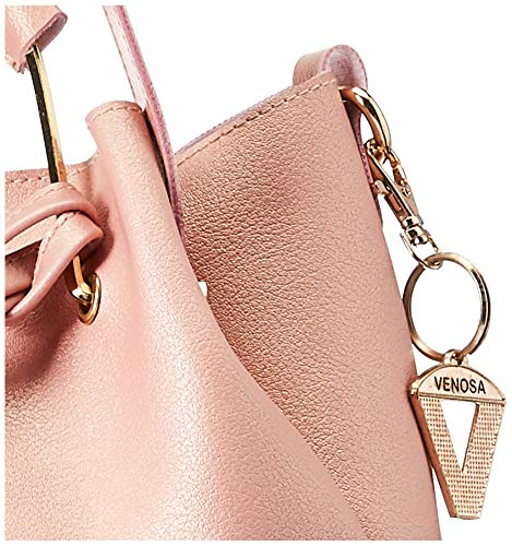 Venosa Amazon Women's Shoulder with Pouch and Sling Bag (Light Pink) (Set of 3)