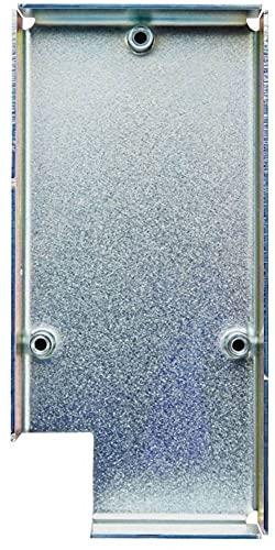 ekey 101300 Montageplatte Instalación Oculta, Wand